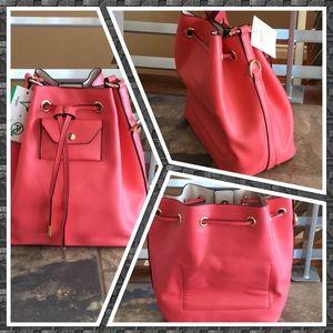 Handbags - Vegan leather Bucket Bag Damaged